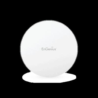EAP1250 Punto de Acceso ac para Interior con Modo Mesh ENGENIUS y Repetidor WiFi, MU-MIMO 2x2, Hasta 1267 Mbps, 250+ Usuarios Simultáneos, Doble Banda en 2.4 y 5 GHz