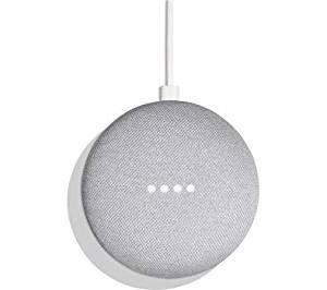 Asistente personal Google home mini color gris