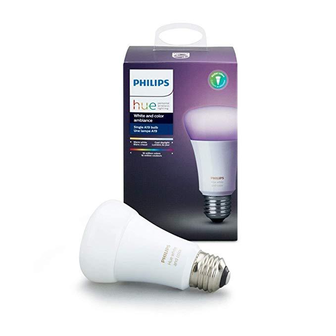 Philips HUE Lámpara LED Individual 10W, Color, A19 E26