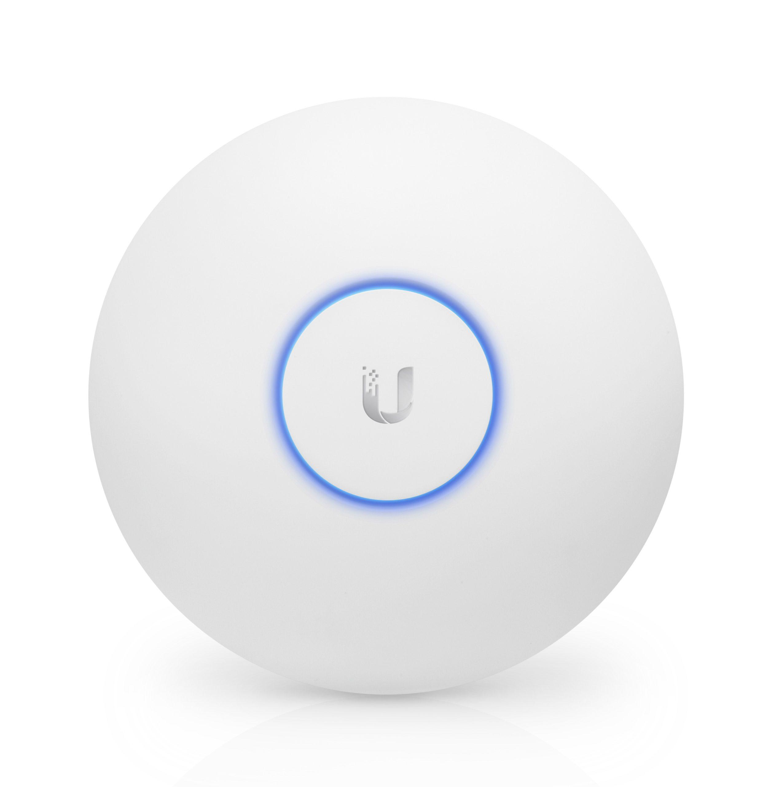 UAP-AC-LITE Access Point Ubiquiti LITE UniFi doble banda 802.11ac 360° MIMO 2X2 para interior PoE 802.3af, hasta 100 usuarios Wi-Fi